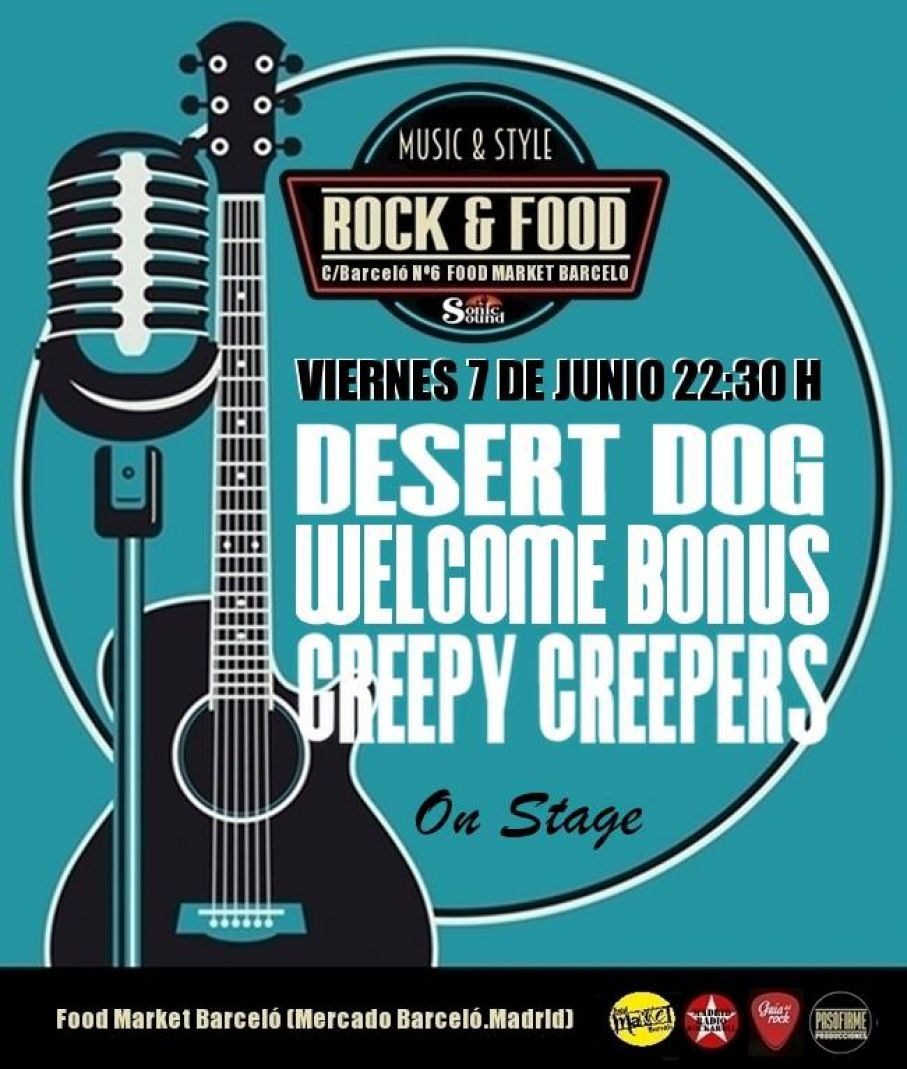 Concierto sala Rock & Food (7JUN2019)